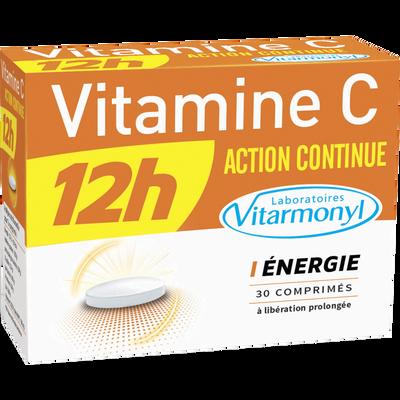 Vitamine C 12h action continue