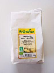 Farine de noix de coco BIO, CLUB BIO, sachet de 500g