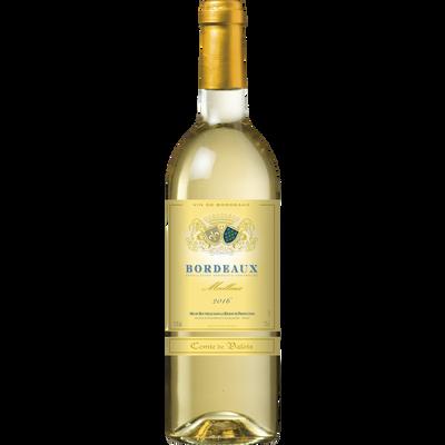 Vin blanc moelleux AOP Bordeaux Comté de Valois, bouteille de 75cl