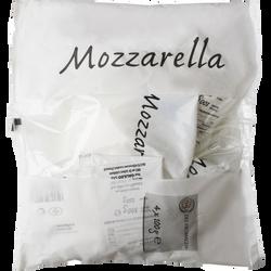 Mozzarella, 15,5% Mat.Gr., L'ITALIE DES FROMAGES, 4x100g