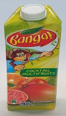 BANGA COKTAIL MULTIFRUITS BRICK 1L