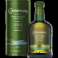 Irish Whiskey CONNEMARA original, 40°, bouteille de 70cl + tube