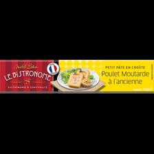 Petit pâté en croûte plet/moutarde Le Bistronome Bolard 450g