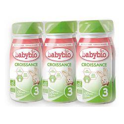 Croissance Liquide  6x1L BABYBIO de 10 mois à 3 ans