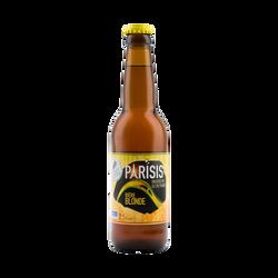 Bière blonde PARISIS, 6,5°, bouteille de 33cl