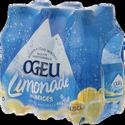 Limonade OGEU, 6 bouteilles de 33cl