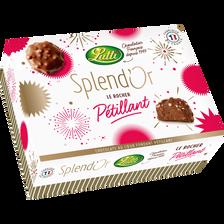 Lutti Bonbon Chocolat Au Lait Praline Le Rocher Pétillant , 270g