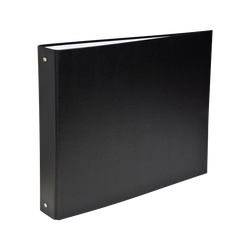 Classeur rigide U, format A4, dos 40mm, noir