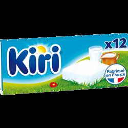 Fromage fondu lt pasteurisé 29%mg KIRI crème, x12, 240G