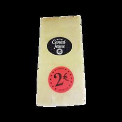 Cantal jeune, AOP, au lait pasteurisé, 30%Mat.Gr, 180g