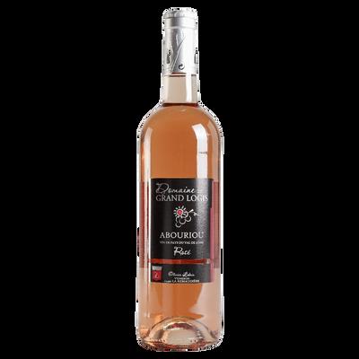IGP Val de Loire Abouriou Rosé, Domaine du Grand Logis, bouteille de 75cl