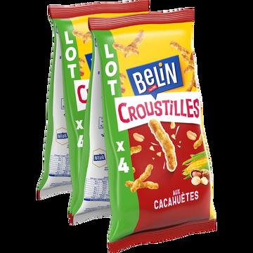 Belin Croustilles Aux Cacahuètes Belin, 4x138g