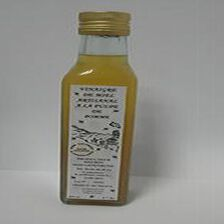 Vinaigre de miel artisanal à la pulpe de pomme, 250ml