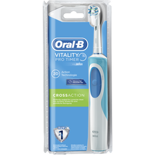Oral B Brosse À Dent Rechargeable Vitality Pro Timer Cross Action