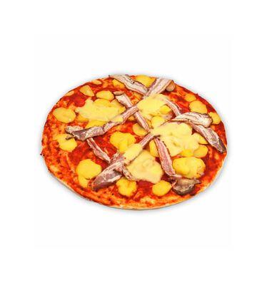 Pizza Pomme de terre/Lardon/Raclette - DECREUSE