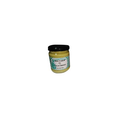 Moutarde fine aux salicornes charentaises MOUTARDERIE DU MOULIN, 200g