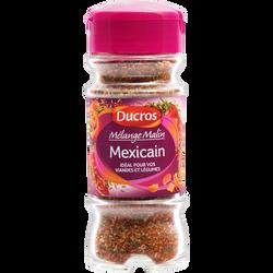 """Mélange """"Cuisinez à la Mexicaine"""", DUCROS, flacon duc de 40g"""