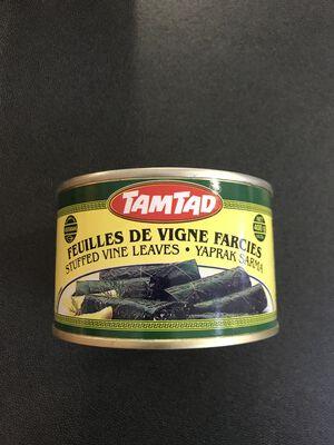 1/2 feuilles de vignes farcies 400g spanico