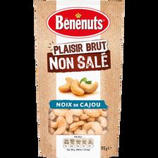 Plaisir brut non salé noix de cajou, BENENUTS, 95g