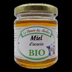 Miel d'acacia de France bio LE MANOIR DES ABEILLES, 250g
