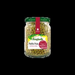 Petits pois préparés au bouillon légumes BONDUELLE, 58cl, 375g