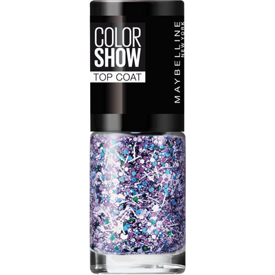 Vernis à ongles colorshow 02 whith splatter MAYBELLINE, nu