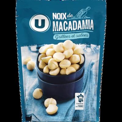 Noix de macadamia U, sachet de 100g