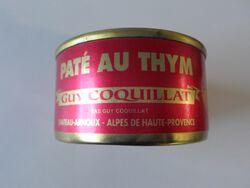 PATE AU THYM