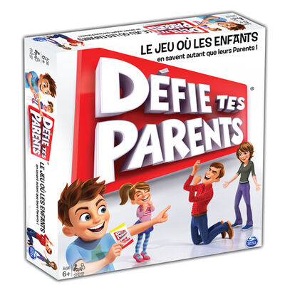 DEFIE TES PARENTS EDITION 2017 SPIN MASTER GAMES