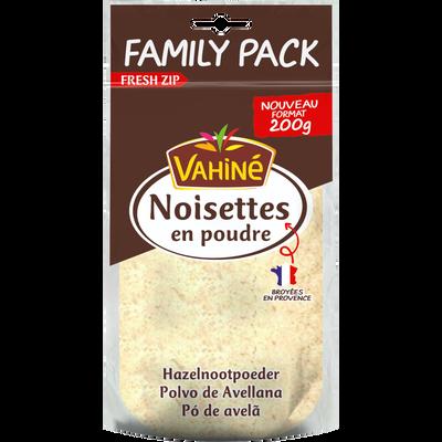 Noisettes en poudre VAHINE, family pack sachet 200g