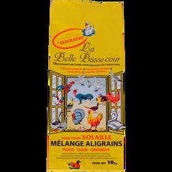 Mélange aligrains pour volailles LA BELLE BASSE-COUR, 10kg