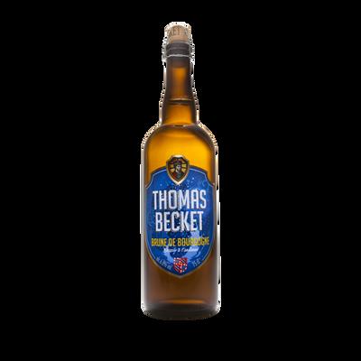 Bière brune THOMAS BECKET 6.8°, bouteille de 75cl