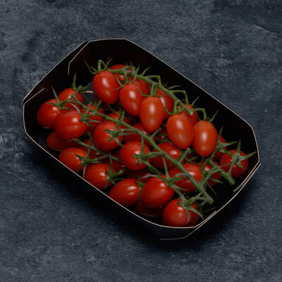 Tomate cerise, segment les cerises allongées, catégorie 1, Espagne, shaker 250g