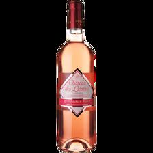 Bordeaux AOP rosé CHATEAU DES LEOTINS MDC, bouteille de 75cl