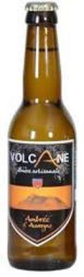Bière artisanale LA VOLCANE bière ambrée 33cl