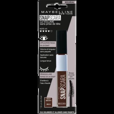 Mascara snapscara blfr/it/nl 3 bold brown MAYBELLINE
