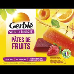 Pâte de fruits GERBLE, 6x27g