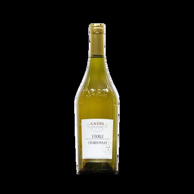 Etoile chardonnay 2016 LES CAVES DU VIEUX MONT, bouteille de 0.75 l