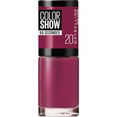 Vernis à ongles colorshow 20 blush berry MAYBELLINE, nu