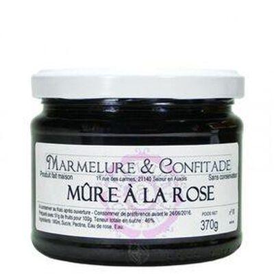 CONFITURE MURE ROSE 370G