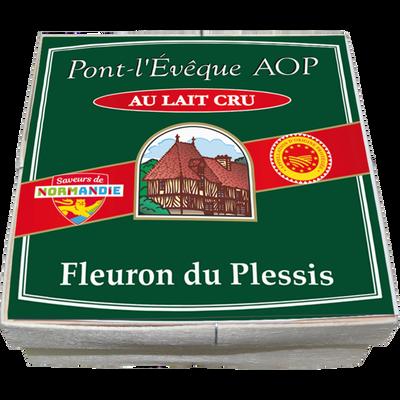 Pont l'évêque AOP lait cru 25% de MG FLEURON DU PLESSIS, 360g
