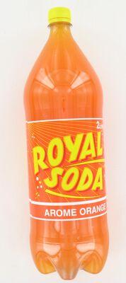 ROYAL SODA orange , bouteille de 2l