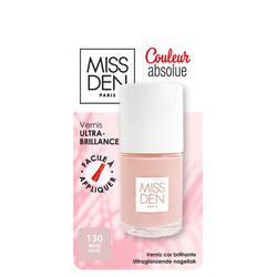 Vernis couleur absolue beige nude 130 MISS DEN,
