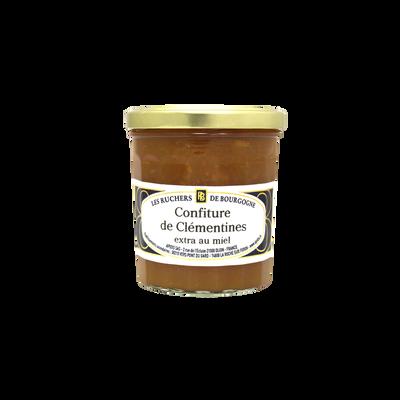 Confiture de clementines au miel RUCHERS DE BOURGOGNE, 375g