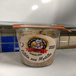 Rillette de porc aux Myrtilles L'ARTISAN CONSERVEUR 200gr