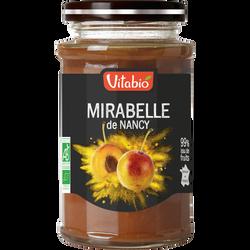 Confiture délice de mirabelle VITABIO, 290g