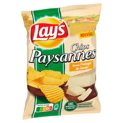 CHIPS PAYSANNES FROMAGE LAY'S 120G