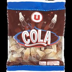 Confiserie gélifiée cola U, sachet de 250g