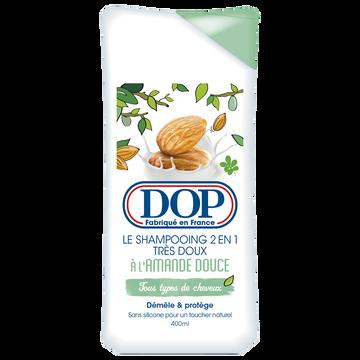 Dop Shampooing Très Doux Amande Douce Dop, Flacon 400ml