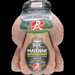 Poulet fermier noir Label Rouge DUC DE MAYENNE